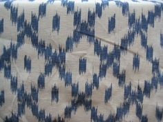 Blue & White Mallorcan Ikats