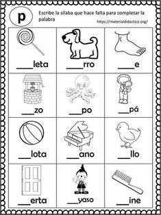 Spanish Worksheets, Spanish Teaching Resources, Spanish Activities, Worksheets For Kids, Summer Worksheets, Preschool Spanish, Preschool Writing, Preschool Curriculum, Preschool Activities
