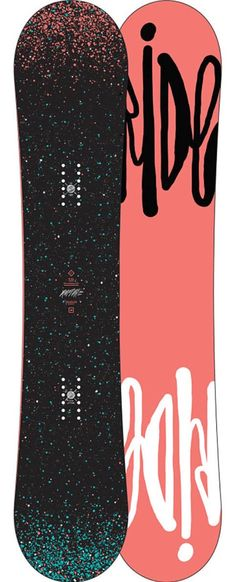 Loooove this Ride snowboard
