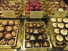 Fassbender & Rausch chocolate display, Berlin