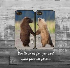 Double best friends iPhone cases iPhone 4/4S by theinfinitybee