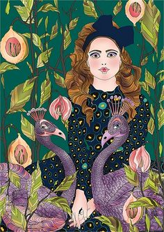 Ella Tjader Illustration Portfolio – Fashion, Art and Nature Illustrator