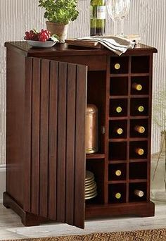 Sleek, functional and beautiful, the Bellamy Wine Cabinet offers a handsome storage piece perfect for your home.