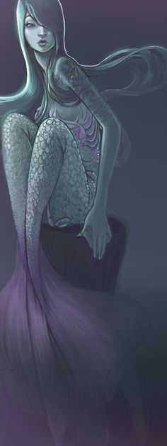 Silence of the Siren by Lucie Shearer, via Behance