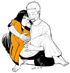 Naruto and hinata Naruhina, Naruto Uzumaki, Anime Naruto, Naruto Gaiden, Naruto Cute, Hinata Hyuga, Naruto Comic, Kakashi, Naruto Family