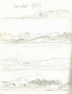 4 quick pencil studies done while sailing past the Island Avernakø in the archipelago of southern Funen, Denmark. Summer 2014. Loved that sailing trip! A3. by Naja Abelsen