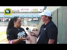 Rachel Holden Interview-The Fastpitch Softball TV Show Episode 128. While I was in Round Rock, Texas at the NPF games I ran into Rachel Holden. Rachel is the catcher for the Chicago Bandits.    Visit the Fastpitch TV Show's website at http://Fastpitch.TV
