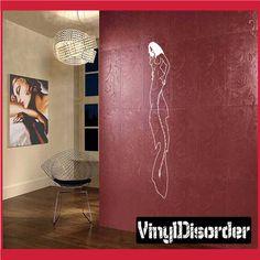 Mermaid Wall Decal - Vinyl Decal - Car Decal - CF23035