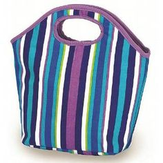 Check out the Picnic Plus PSM-145VS Zesty Lunch Bag in Lavender Stripes