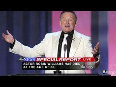 Robin Williams, Abc News, Laughter, Sad, Entertaining, Actors, Shit Happens, Live, Twitter