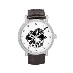 Musical Collage Music Lovers Wrist Watch