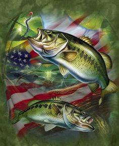 Hunting Wallpaper, Deer Wallpaper, Western Photography, Fishing Photography, Fishing Life, Gone Fishing, Wildlife Paintings, Wildlife Art, Bass Fishing Pictures