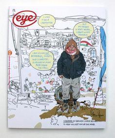 Cover of Eye 93 by Olivier Kugler #Eyemagazine #design