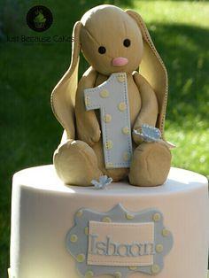 Jellycat Bunny Cake Topper #Jellycat
