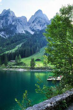 Gosau in Upper Austria, Austria (have been to Austria, Salzberg, everyone SHOULD GO!)