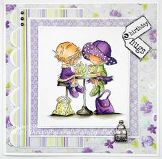 Tea, Cake and Crafting: Purple Friends challenge reminder.
