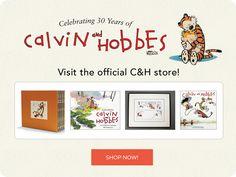 Calvin and Hobbes 30th Anniversary