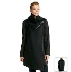 Betsey Johnson® Wrap Blanket Coat