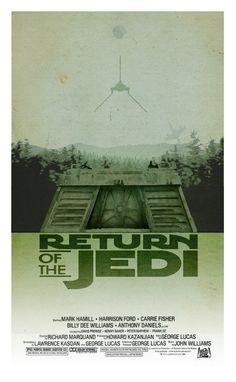 Alternative Movie Poster:  Return of the Jedi by 3ftDeep