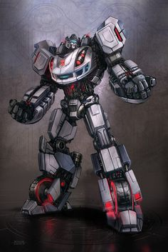 Transformers - War for Cybertron - Jazz concept