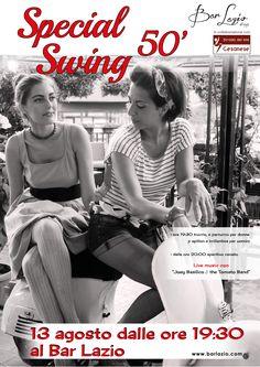 Special Swing 50' la serata a tema anni 50' con cena e Live Music al Bar Lazio
