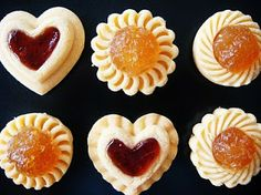 i bake for you :): CNY: Pineapple tarts and strawberry hearts Jam tart cookie cutters from Malaysia