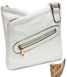 RAMY6890WHT ( Purse and Bag ) - Wholesale Jewelry at great value!