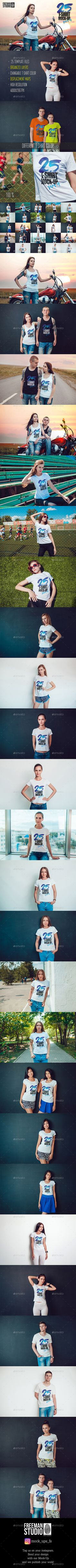 e4995eda2 26 Best T shirt mock up images | Mockup photoshop, Product mockup, T ...