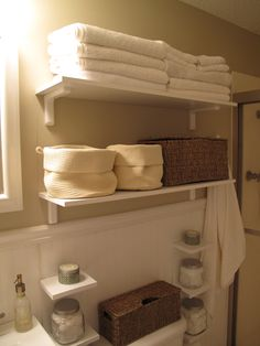 space saver...need to do this in my bathroom