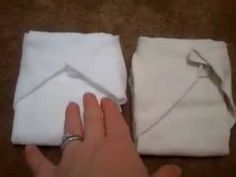 ▶ More about flour sack towels as cloth diapers - YouTube
