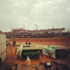Dirt track racing every weekend my whole life i love to be at a race track!