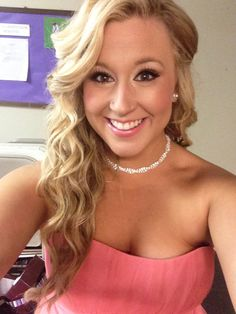 Wedding makeup & hair. Samantha Minyard