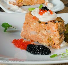 La cocina de Frabisa: Pastel de bacalao, gambas y mejillones frescos. Navidad. Receta