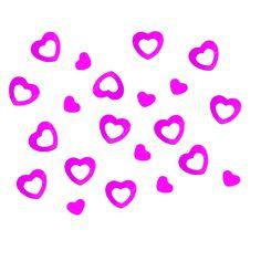 Herz Konfetti Tischdeko Liebe Romantik Hochzeitsdeko - pink in Dekoration  • Konfetti