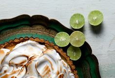 DIY classic Key lime pie—including a handy little cheat sheet on substituting everyday limes for these puckery little Key suckers.