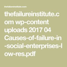thefailureinstitute.com wp-content uploads 2017 04 Causes-of-failure-in-social-enterprises-low-res.pdf