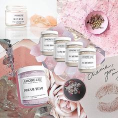 """""""Beauty begins when you decide to be yourself"""" 🌸 loving this gorgeous collage from the beautiful and beyond talented @ashtontaylor_creative…"""