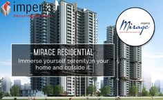 #MIRAGE #imperia   Large Residential Project in Yamuna Expressway. Mirage Homes is a 5 Acre Complex with 6 Residential Towers.