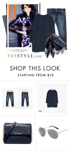 """""""YESSTYLE.com"""" by monmondefou ❤ liked on Polyvore featuring Envy Look, GLAM12, MICHAEL Michael Kors, KOON, Kim Kwang and yesstyle"""