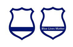 Support Badge Decal Choose Vinyl Decal - #BlueStripe Decal, Car Decal, #BlueLivesMatter, Bumper sticker, Window decal, Police Badge sticker by MorgansCornerShop on Etsy