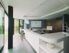 Green Greenberg Green House - modern - kitchen - los angeles - NEW THEME Inc.