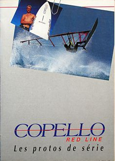 COPELLO 1991 windsurfing range brochure cover