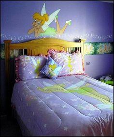 Tinkerbell Bedroom in 15 Dreamy Designs