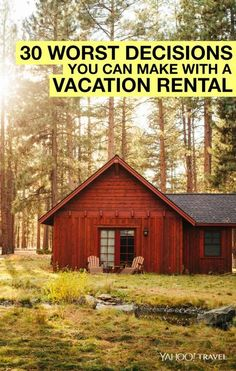 The 30 Worst Decisions You Can Make with a Vacation Rental    ........................................................ Please save this pin... ........................................................... Because For Real Estate Investing... Visit Now!  http://www.OwnItLand.com