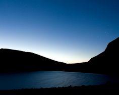 #LagoDiPilato di notte