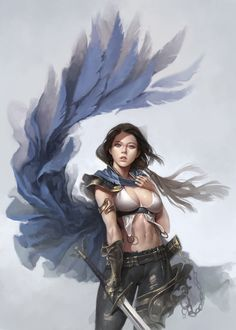 ArtStation - blue cape, dongho Kang
