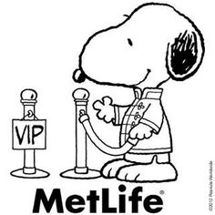 Image detail for -MetLife.com - Snoopy And The Gang!