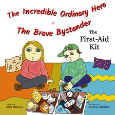 The Incredible ordinary Hero or The Brave Bystander - The First Aid Kit (coloring book for children) is going to be on amazon soon (12 of december is almost here!) Colouring, Coloring Books, First Aid Kit, Book Authors, Childrens Books, Brave, December, The Incredibles, Hero