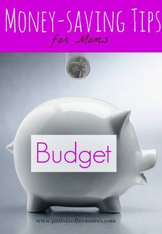 Simple, money-saving tips that will give you extra wiggle room in your budget! Great for moms! #moneysavingtips #parenting #frugal www.pintsizedtreasures.com