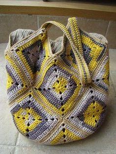 Transcendent Crochet a Solid Granny Square Ideas. Inconceivable Crochet a Solid Granny Square Ideas. Crochet Shell Stitch, Crochet Diy, Crochet Handbags, Knit Or Crochet, Crochet Granny, Crochet Crafts, Crochet Projects, Crochet Purses, Crochet Bags